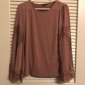 Beautiful rose pink blouse